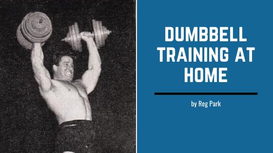 dumbbell workout home reg park