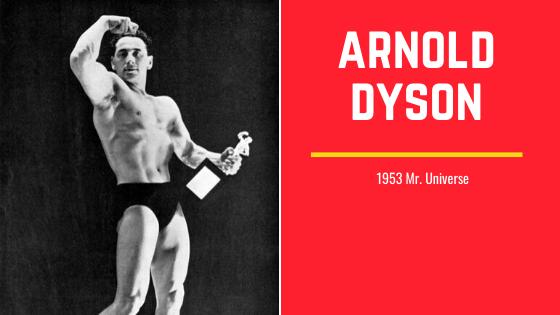 Arnold Dyson mr universe