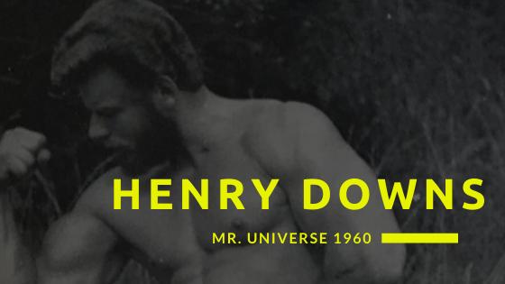 henry downs mr universe