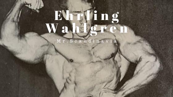 Ehrling Wahlgren bodybuilder workout