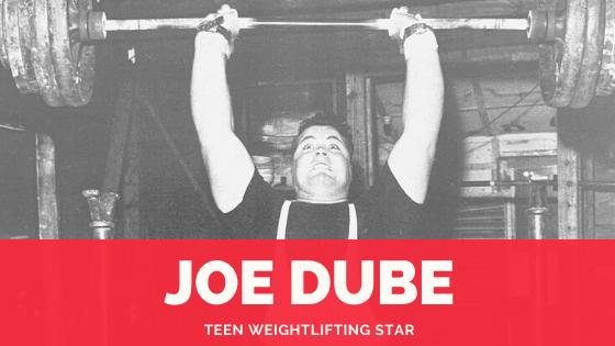 Joe Dube weightlifting