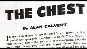 alan calvert the chest