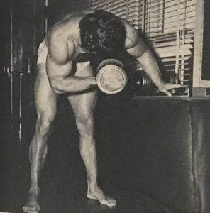 reg park concentration curl biceps