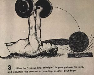 pullover exercise oldschool