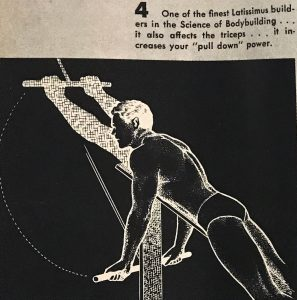 oldschool lat exercise charles a smith