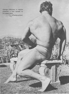 George Eiferman bodybuilder back pose