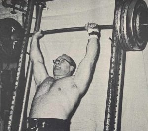 norbert schemansky weightlifter press