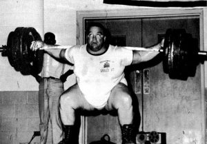 Paul Anderson squat weightlifter