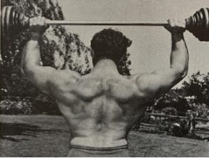 George Eiferman back muscle