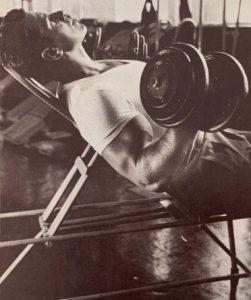 Reg Park arm workout biceps bodybuilding