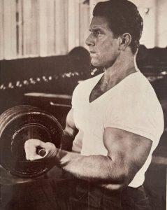Reg Park Arm workout biceps