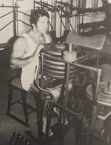 Reg Park calves workout oldschool
