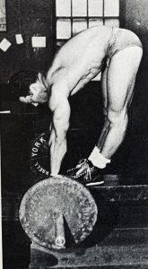 Jim Park Stiff Leg Deadlift
