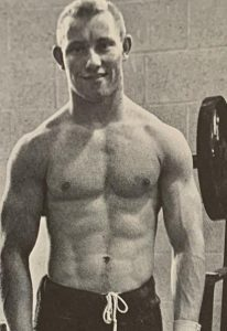 Gary Cleveland weightlifting