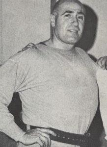 Morris Weissbrot weightlifting coach