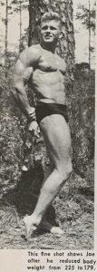 Joe Lewis bodybuilding karate