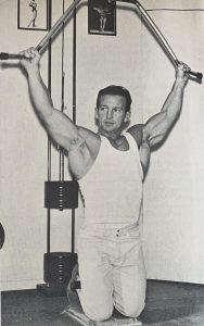Joe Nista bodybuilding workout