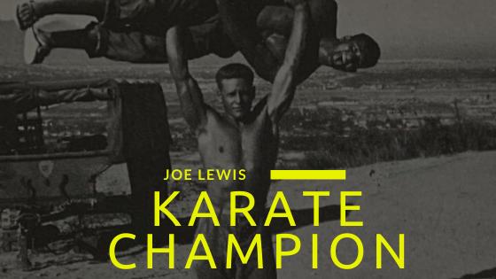 Joe Lewis karate workout
