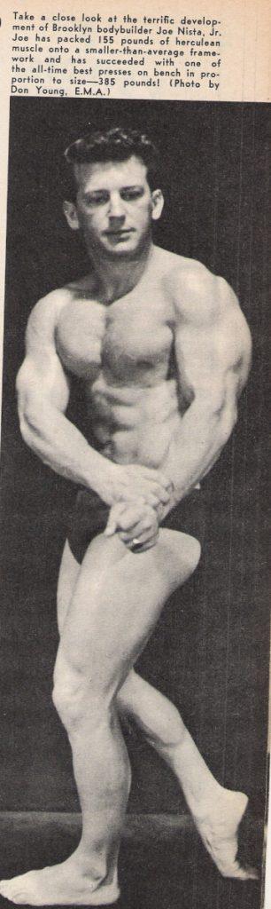 Joe Nista bodybuilding
