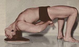 wrestlers bridge exercise movement
