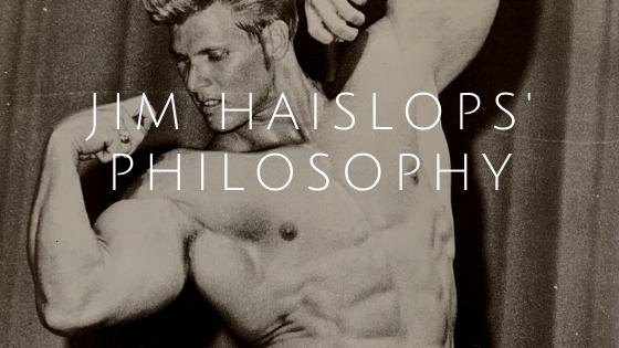 jim haislop training philosophy