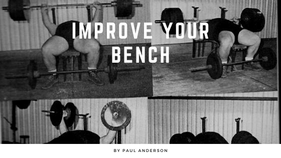 paul anderson benchpress