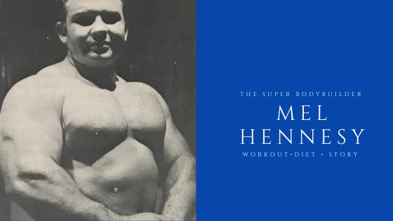 Mel Hennesy powerlifter