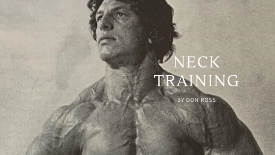 neck training bodybuilding