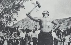 sledge hammer workout