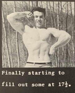 joe abbenda 17 years of age bodybuilding