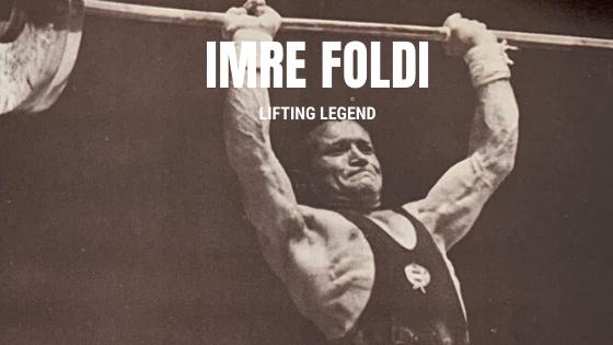 imre foldi weightlifting