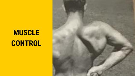 muscle control Ed Jubinville