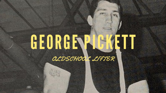 George Pickett weightlifting
