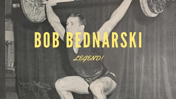 Bob Bednarski weightlifting