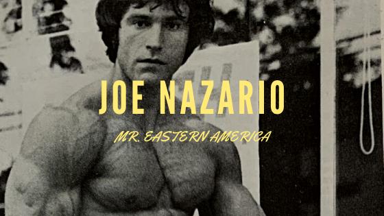 Joe Nazario bodybuilding