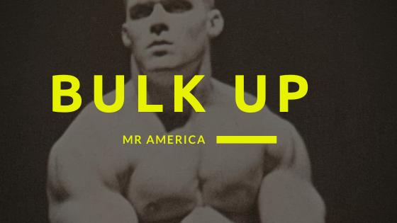 bulk up program oldschool