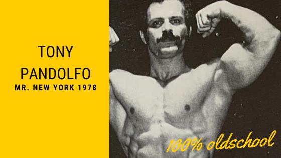 Tony Pandolfo bodybuilding