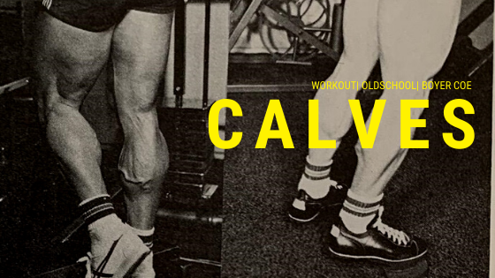boyer coe workout calves