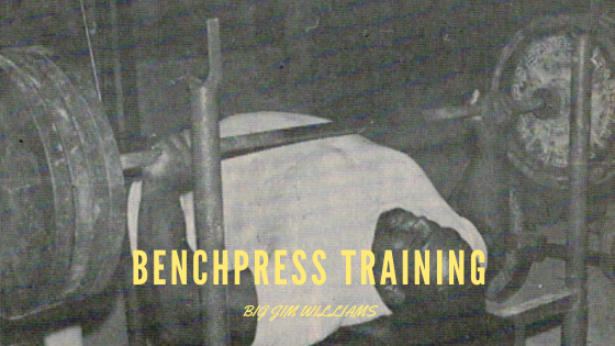 big jim williams benchpress