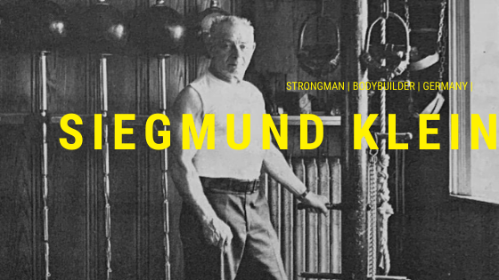 siegmund klein bodybuilder strongman
