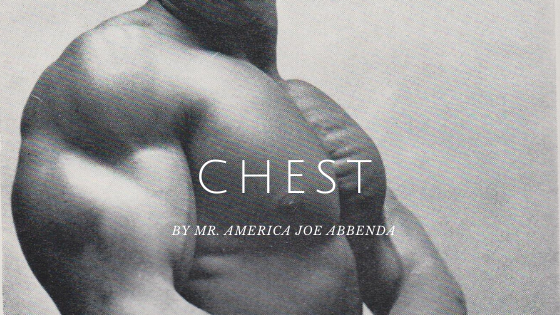 joe abbenda chest workout
