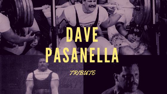 Dave Pasanella poiwerlifting tribute