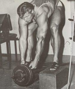 jim haislop bodybuilding workout bent rowing