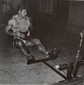 jim haislop bodybuilding workout rowing