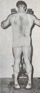 jim haislop calf work bodybuilding