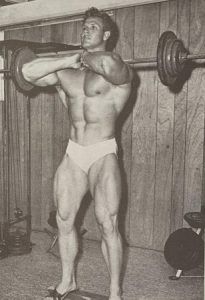 front squat jim haislop bodybuilding