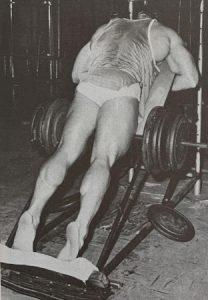jim haislop bodybuilding calf work