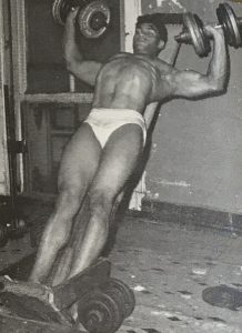 harold poole incline bench press