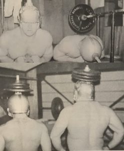 weighed helmet neck workout football