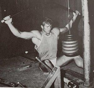 jim haislop bodybuilding workout lat pulldown